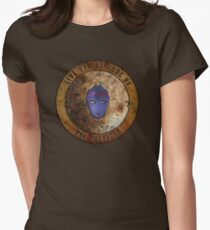 Ancient Code of the Justicar Womens Fitted T-Shirt