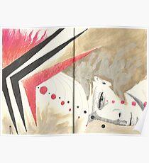Sketchbook Jak, 34-35 Poster