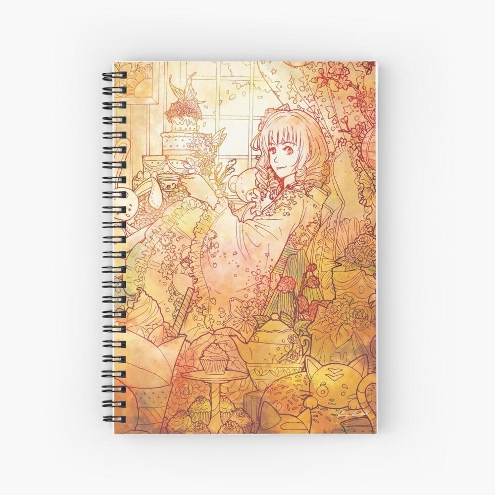 Le printemps - Spring Spiral Notebook