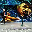 Hosier Lane Melbourne by sparrowhawk