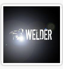Welding: Stick Welder Sticker