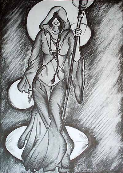 Comic Book Sketch 2 by vivianne