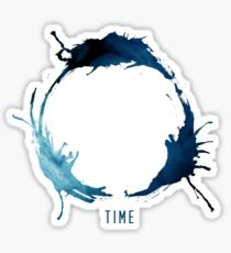 TIME (Arrival Logogram) Sticker