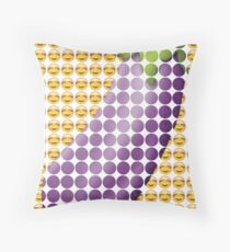 I have eyes for your aubergine (emoji) Throw Pillow