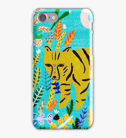 Tiger In The Jungle iPhone Case/Skin
