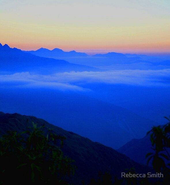 Mountain Mist by Rebecca Smith