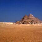 Pyramid Necropolis Cairo by desertman