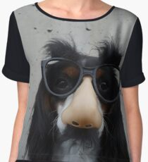 Funny dog | Humour Chiffon Top
