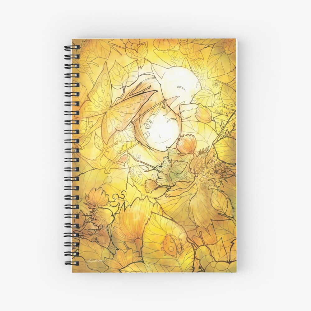 L'automne - Fall/Autumn Spiral Notebook