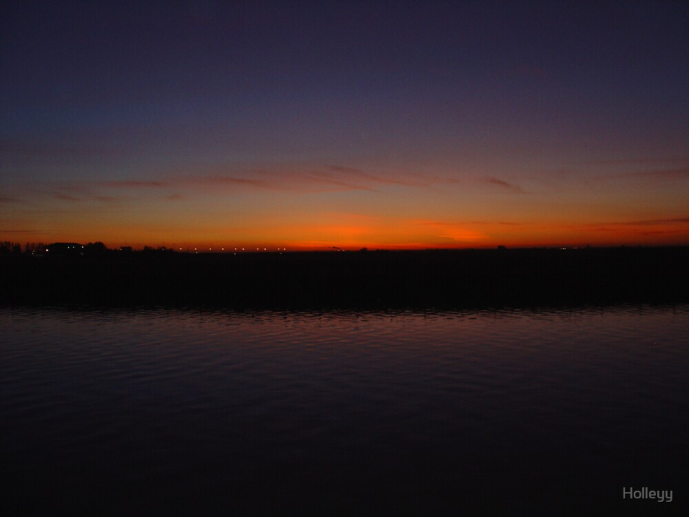Bure Park Sunset by Holleyy