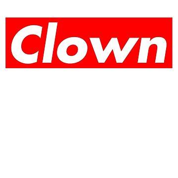 Supreme Clown Snoop  by RudieSeventyOne