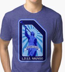 LDSS Nauvoo patch Tri-blend T-Shirt
