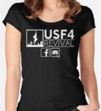 USF4Revival T-Shirt  Women's Fitted Scoop T-Shirt