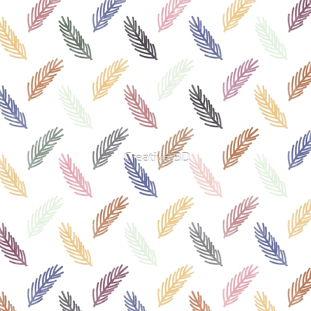 Colorful Lovely Pattern by Creative BD