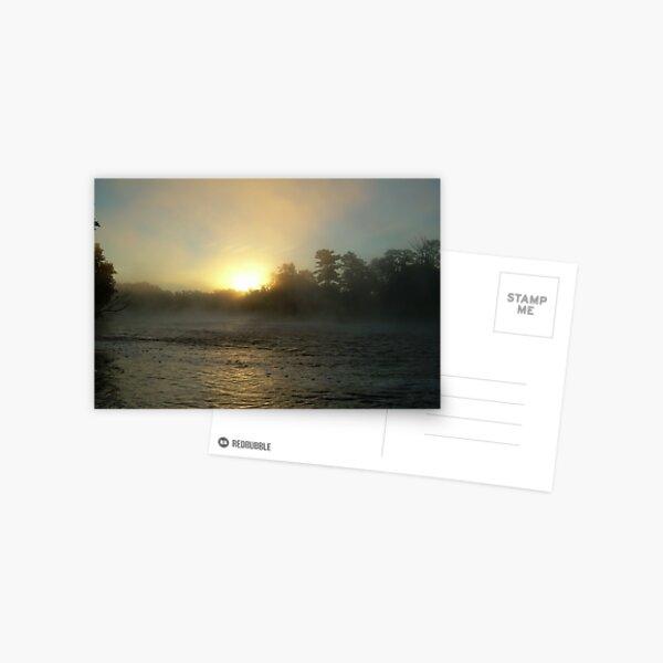 Foggy Sunrise 702 Postcard