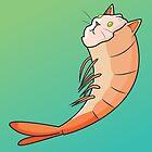 Shrimp Cat by Samantha Moore