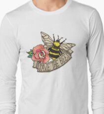 RETTE die Bienen! Langarmshirt