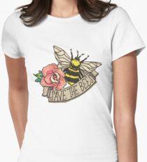 RETTE die Bienen! Tailliertes T-Shirt für Frauen