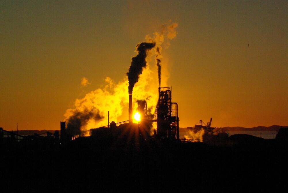 Industry sunset by dodgsun