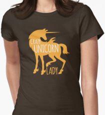 Crazy Unicorn lady T-Shirt