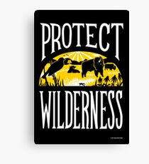 Protect Wilderness Canvas Print