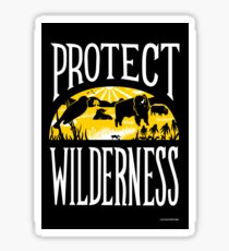 Protect Wilderness Sticker
