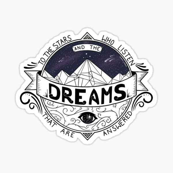 ACOMAF Inspired Sticker