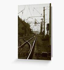 Adler-Sochi-Tuapse Greeting Card