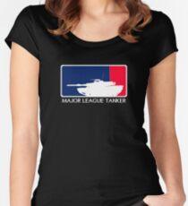Camiseta entallada de cuello ancho Grandes Ligas Tanker