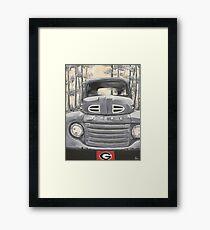 GA Truck Framed Print