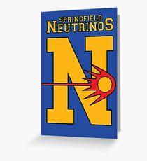 Neutrinos [Roufxis - RB] Greeting Card