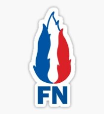 Flame du front national Sticker