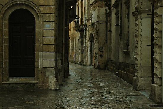 Streetscape in Baroque ! by Alessandro Pinto