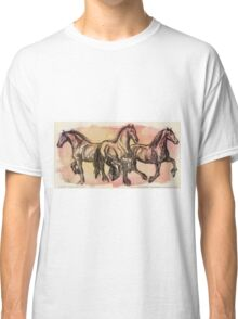 Friesians in Motion Classic T-Shirt