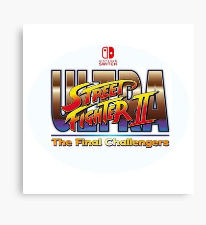 Ultra Street Fighter 2  Canvas Print