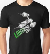 Blakes 7 - LIBERATOR Slim Fit T-Shirt