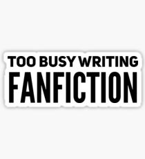 Fanfiction Sticker