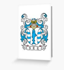 See Coat of Arms Greeting Card
