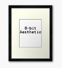 8-Bit Aesthetic Framed Print