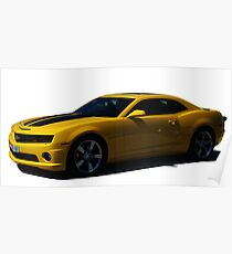 Chevy Camaro - Transformers Bumblebee  Poster