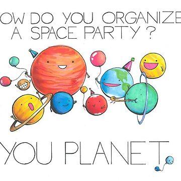 Space Party de gekep