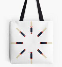 Lipstick Burst Tote Bag