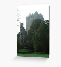 Blarney Castle in  the Mist Greeting Card