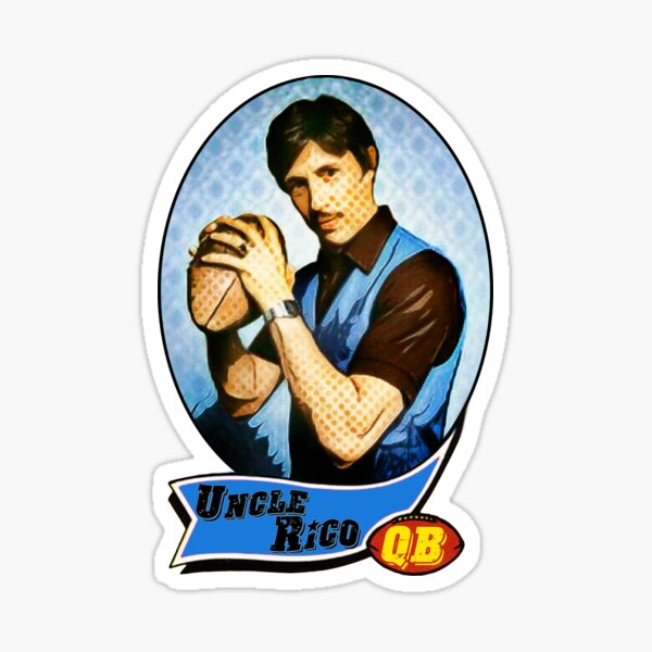 Uncle Rico Football card Sticker