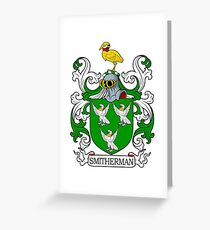 Smitherman Coat of Arms Greeting Card
