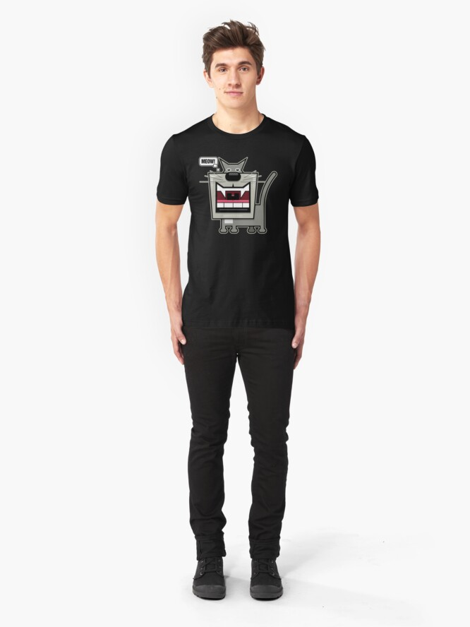 Alternate view of Meow Slim Fit T-Shirt
