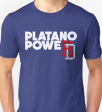 DOMINICAN REPUBLIC BASEBALL TEAM SUPPORT PLATANO POWER Unisex T-Shirt