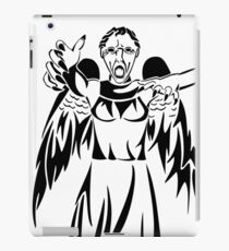 I told you not to blink iPad Case/Skin