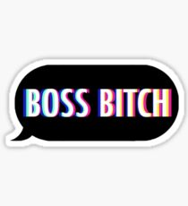 Boss Bitch Sticker