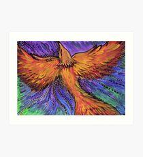 Der Feuervogel Kunstdruck